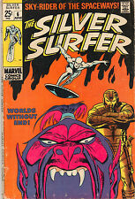 Silver Surfer #6 - Worlds Without End! - 1969 (Grade 5.0)