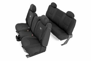 Rough Country Neoprene Seat Covers (fits) 1999-2006 Chevy Silverado 1500 |