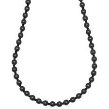 Onyx e collana di cristallo sfaccettato Perline 6mm x 30 pollici