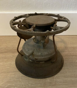 Antique Landers Frary & Clark Universal Alcohol Camp Stove No. 0 Patent 1908