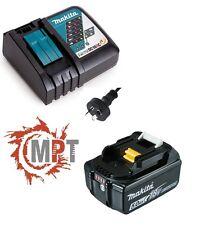 Makita DC18RC 14.4V - 18V Li-Ion Rapid Battery Charger +  BL1850B 5.0Ah Battery