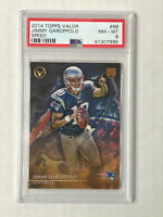 JIMMY GAROPPOLO 2014 Topps Valor SPEED SP RC #68! PSA NM-MT 8! 49ERS! INVEST