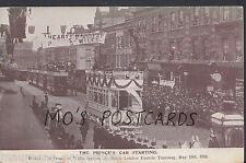 London Postcard- The Prince of Wales Opening South London Electric Tramway A8909