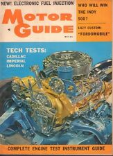 Motor Guide May 1957 '57 Indy Winner, Ford V-8 051017nonDBE