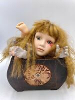OOAK Baby Doll Head Body Parts Halloween Decor Oddity Weird Prop