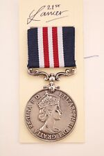 ERII BRITISH ARMY MM MILITARY MEDAL FOR BRAVERY IN THE FIELD OTHER RANKS BOXED