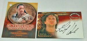 2002 Grant Heslov The Scorpion King (ARPID) Autographs Card #A4