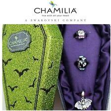 CHAMILIA 925 Silver 2018 LIMITED EDITION Halloween DRACULA, GHOST & BAT Gift Set