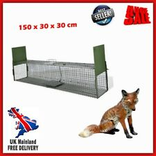 Animal Trap Catcher Live Life Steel Cage Bait Station Rabbit Raccoon Cat Fox Pet