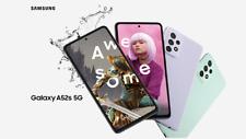 Samsung Galaxy A52s 5G 128GB - verschiedenfarbig (schwarz, weiss, violet, grün)