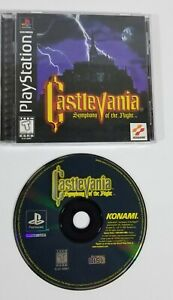 Castlevania Symphony Of The Night Ps1 Black Label Complete and Tested