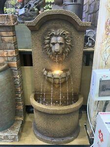 LEONARDO VENETIAN LION DESIGNED FOUNTAIN WITH MULTI DROPS FAST DELIVERY NEW