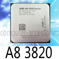 AMD A8-Series A8-3820 2.8 A8 3820 GHz Quad-Core CPU Processor AD3820OJZ43GX Socket FM1
