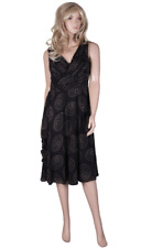 New TEATRO Black Dress Size 12 Ladies Wedding Evening Party Mother of the Bride