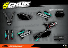 KTM Dekor SX SXf 125 250 450 525 2005 2006 '05 '06 SCRUB Motocross MX