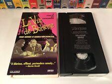 La Vie De Boheme Comedy Drama VHS 1992 Aki Kaurismaki Matti Pellonpaa Subtitled