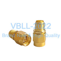 50X SMA Male Plug to SMA Female Jack RF Straight Coaxial Connector Adapter