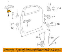 GM OEM Front Door-Cap Left 15895671