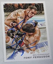 Tony Ferguson Signed UFC 2011 Topps Moment of Truth Rookie Debut Card 16 RC Auto