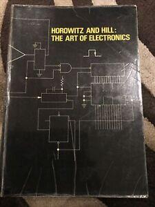 The Art of Electronics by Paul Horowitz & Winfield Hill (Hardback) 1987 - S95