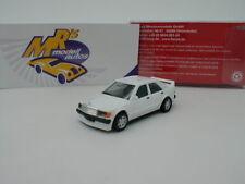 """Herpa 420310 - Mercedes Benz 190E 2,5 16V Baujahr 1991 in """" weiß """" 1:87 NEU !!"""