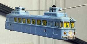Vintage Cosmo Hong Kong Battery Operated Electric Cable Car. O gauge