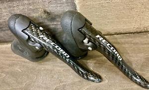 New Campagnolo Record Road Bike Brake Lever Right Black Carbon BL01-RECR