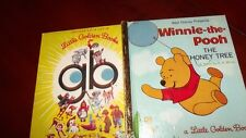 Winnie-the-pooh THE HONEY TREE LITTLE GOLDEN BOOK D116 1974SYD B Different spine