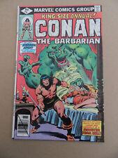 Conan The Barbarian Annual 5 . Marvel 1979 . VF
