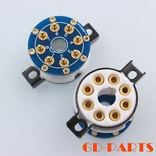 High end 8 pin ceramic valve tube socket with adapter Pcb board for Kt88 El34x1