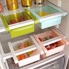 4 Pieces Slide Kitchen Fridge Space Saver Organizer Refrigerator Storage Rack