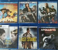 Bluray Lot of 6 Movies: Cowboys & Aliens King Arthur Apollo 18 3 Musketeers A1