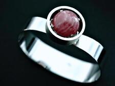 Designer TEKA Armband Armreif Rhodochrosite 925 Sterling Silber / a100