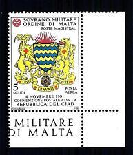 SMOM - 1992 - PA - Convenzione postale con la Repubblica del Ciad