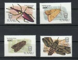 TUVALU, 1981 Insekten 587-81 **, (27940)