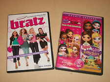 FREE SHIP Lot of 2 BRATZ DVD Videos Bratz Movie & Bratz Kidz Double Feature