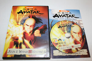 Avatar The Last Airbender Book 1: Water - Vol. 4 (DVD 2006) Nickelodeon