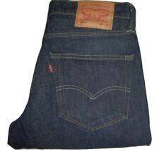 NEW Mens LEVI'S 511 Slim Fit Dark Blue Jeans W33 L32 White Oak Cone Denim BNWoT