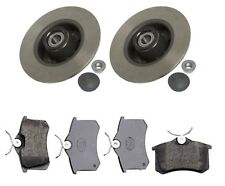 Brake DiscsX2 and Pads Set Fit For Renault Clio Grandtour 1.2 1.6 16V 02 2008 ->