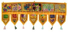 "Vintage Door Hanging Valance Bohemian Decorative Beaded Decor Valance Toran 39"""