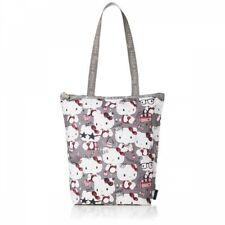 Hello Kitty x LeSportsac 45th Anniv. Tote Bag DAILY TOTE Gray Japan Tracking