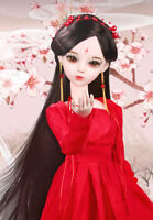 "24"" New 1/3 Handmade PVC BJD MSD Wedding Doll Joint Dolls Baby Gift New Fengjiu"