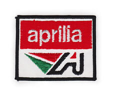 Aprillia Embroidered Sew On Patch