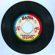 Philippines RAMON JACINTO & THE RIOTS You Belong To Me OPM 45 rpm Record