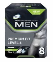 Tena Hommes Ajustement Premium Protection Sous-Vêtements Level 4 Maxi Grand 8