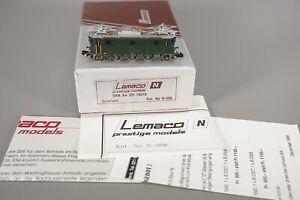 Spur N - LEMACO--006...SBB Ae 3/5 10210...OVP     // 3 BB 368