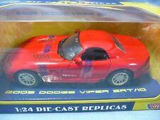 Motormax 1:24 2003 Dodge Viper SRT/10