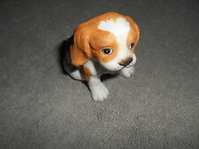 Homco #1407 Brown & White Puppy Figure