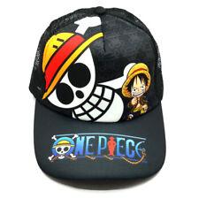 New Anime One Piece Luffy Baseball Cap Mesh Caps Cotton Sun Hat Cosplay Hip-hop