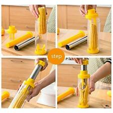 RSVP Corn Cob Stripper Cutter Peeler No Mess Stainless Steel Blade Deluxe J